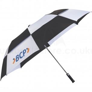 "Kimberley 30"" 2- section auto open vented umbrella"