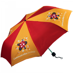 Windsor Folding Full Colour Umbrella