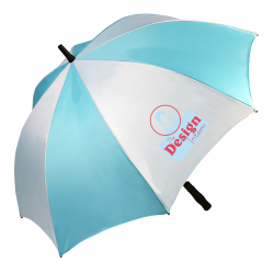 Auto Golf Double Canopy Umbrella